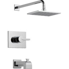Vero Tub and Shower Faucet with Lever Handles