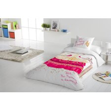 Princess 2 Piece Twin Duvet Cover Set
