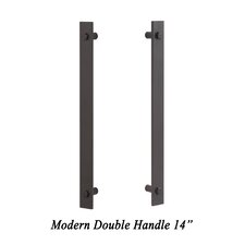 Modern Double Barn Door Hardware