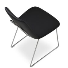 Eiffel Handle Back Upholstered Dining Chair
