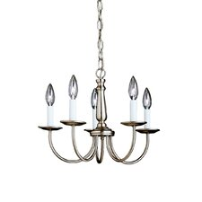 Rudolph 5-Light Candle-Style Chandelier