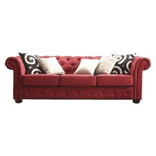 Augustine Tufted Chesterfield Sofa