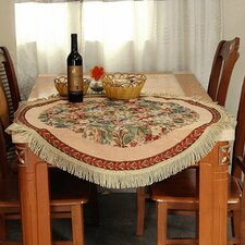 Tache Festive Red Yuletide Blooms Tablecloths