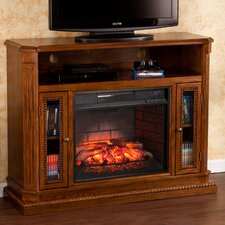 Pembroke Media Console/Stand Infrared Electric Fireplace