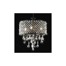 Round 4-Light Crystal Chandelier