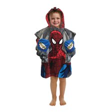 Spiderman Pocket Frenz Hooded Beach Towel