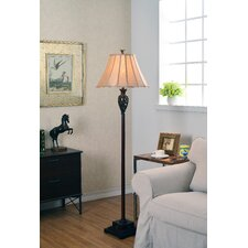 "Iron Lace 62.75"" Floor Lamp"
