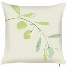 Spring Single Olive Branch Throw Pillow (Set of 2)