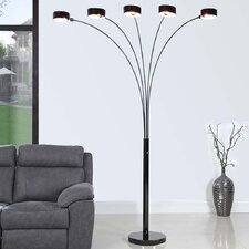 "Micah 88"" LED Arched Floor Lamp"