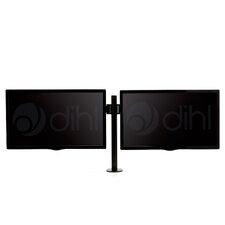 "Double Articulating/Extending Arm Desktop Mount for 13""-27"" Flat Panel Screens"