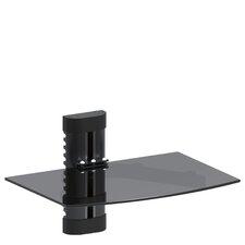 Single Glass TV Shelf
