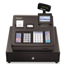 XE-A407 Cash Register, 7000 LookUps, 99 Dept, 40 Clerk