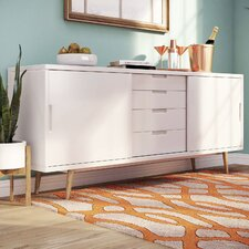 Block 2 Door 4 Drawer Sideboard
