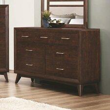 Zeta 7 Drawer Dresser