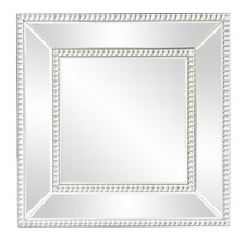 quick view mirrored frame wall mirror