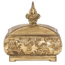 gold decorative box - Decorative Boxes