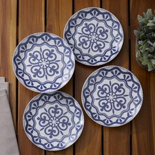 Medallion Plates (Set of 4)