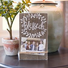 Blessed String Picture Frame