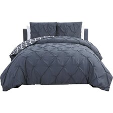 Aaron 3 Piece Reversible Duvet Cover Set