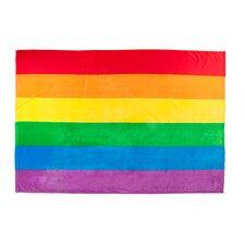 Rainbow Pride Plush Flag Blanket