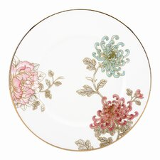 """Painted Camellia 9"""" Accent Plate"""