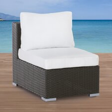 Grande Armless Sectional Chair with Cushion