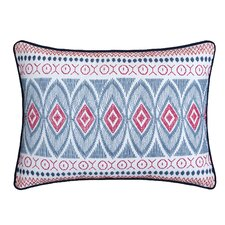 Sarita Garden Cotton Throw Pillow
