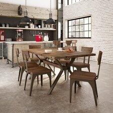 Darcelle 5 Piece Birch Dining Set