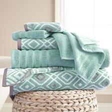 Adult 6 Piece Cotton Towel Set