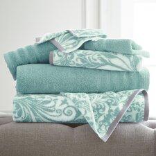 Filigree Swirl 6 Piece Towel Set