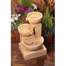 Cotswold Cascading Bowls Fountain with LED Light