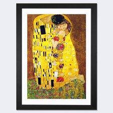 'The Kiss' by Gustav Klimt Graphic Art