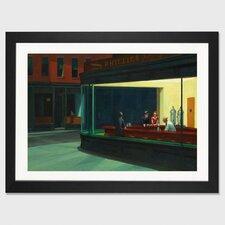 'Nighthawks, 1942' by Edward Hopper Painting Print