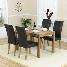 Essgruppe Pria Cambridge mit 4 Stühlen