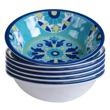 Granada Heavy Weight Melamine Salad Bowl (Set of 6)