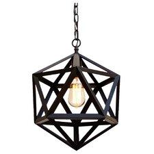 Polyhedron 1-Light Mini Pendant