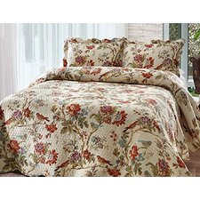 Finch Orchard 4 Piece Quilt Set