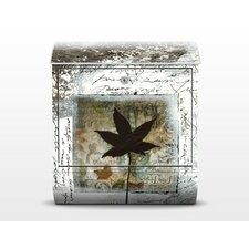 Briefkasten Silvery Memories mit Zeitungsfach