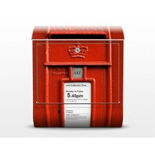 UK Letterbox with Newspaper Holder