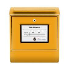 Briefkasten Postkasten mit Zeitungsfach
