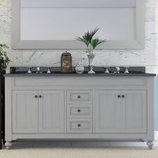 "Cabery 60"" Double Bathroom Vanity Set"
