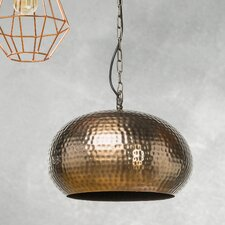 Bluestone 1-Light Bowl Pendant