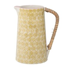 Yellow Ceramic Pitcher