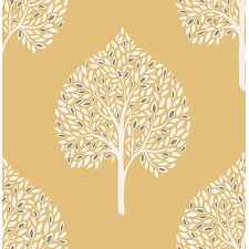 Mirabelle Grove Tree 10.05m x 52cm Botanical Roll Wallpaper