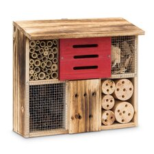 29cm H x 33cm W x 14cm D Bee and Butterfly House