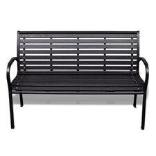 3-Sitzer Gartenbank aus Kunststoff
