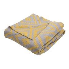 Behn Handloom Modern Cotton Throw Blanket