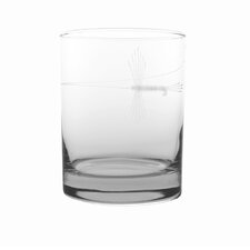 Fly Fishing 14 oz. Double Old Fashioned (Set of 4)