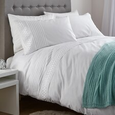 Classic Lace Bands Duvet Set