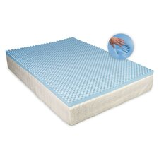 Egg 3.5cm Memory Foam Mattress Topper without Cover